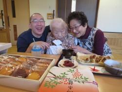 本日100歳のお誕生日!!