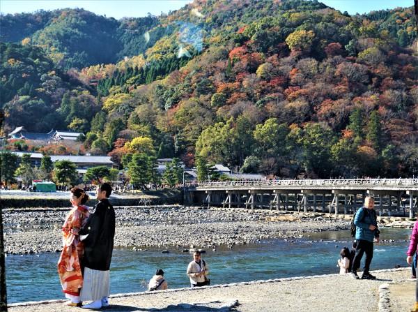 渡月橋結婚式